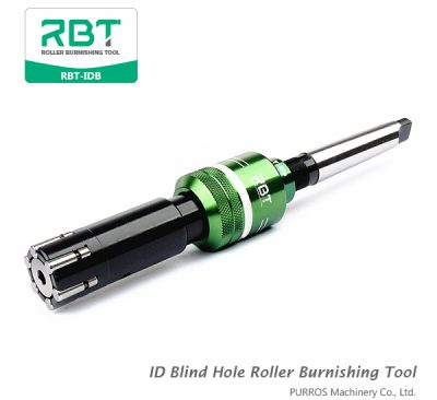 Find Quality ID Blind Hole Roller Burnishing Tool RBT-IDB from us. We have many different roller tools for ID processing.