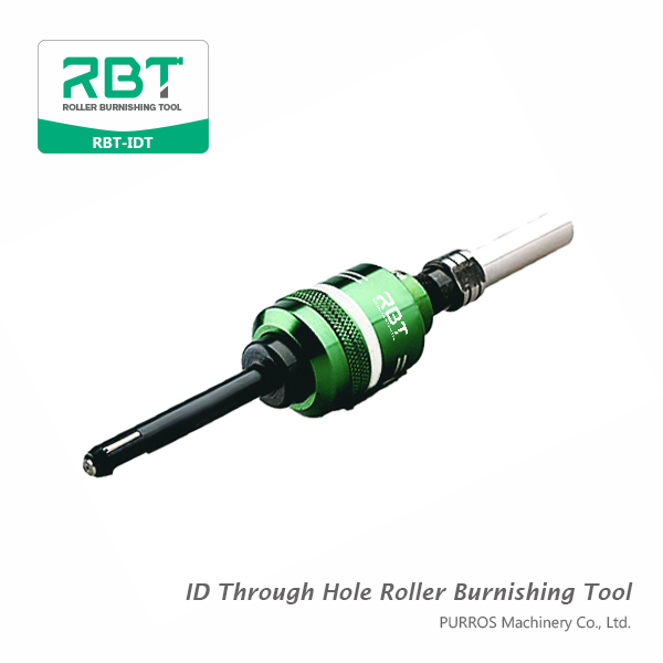 Inside Diameters Through Hole Roller Burnishing Tool, ID Through Hole Roller Burnishing Tool RBT-IDT Supplier