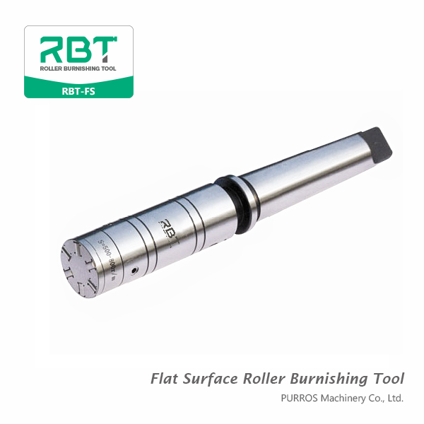 Flat Surface Roller Burnishing Tools RBT-FS Manufacturer, Exporter and Supplier