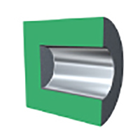 Internal roller burnishing tool for blind hole