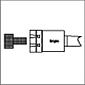 Herramientas de bruñido de rodillo RBT Herramienta de bruñido de eje rebajado OD