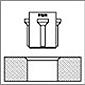 Herramientas de bruñido de rodillo RBT Herramienta combinada de bruñido de ánima y bisel