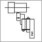 Herramientas de bruñido de rodillo RBT Herramienta de bruñido de tipo H de rodillo simple