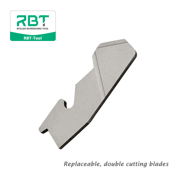 BURRAWAY universal deburring tools Replaceable, double cutting blades