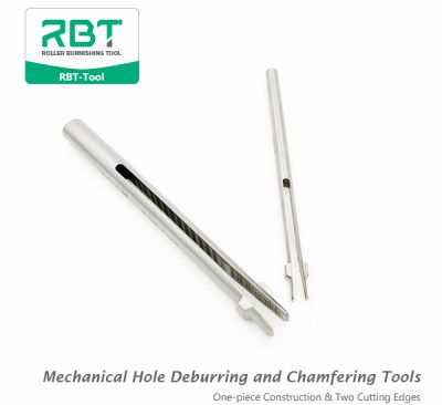 RBT Mechanical Hole Deburring and Chamfering Tools (One-piece Construction & Two Cutting Edges)